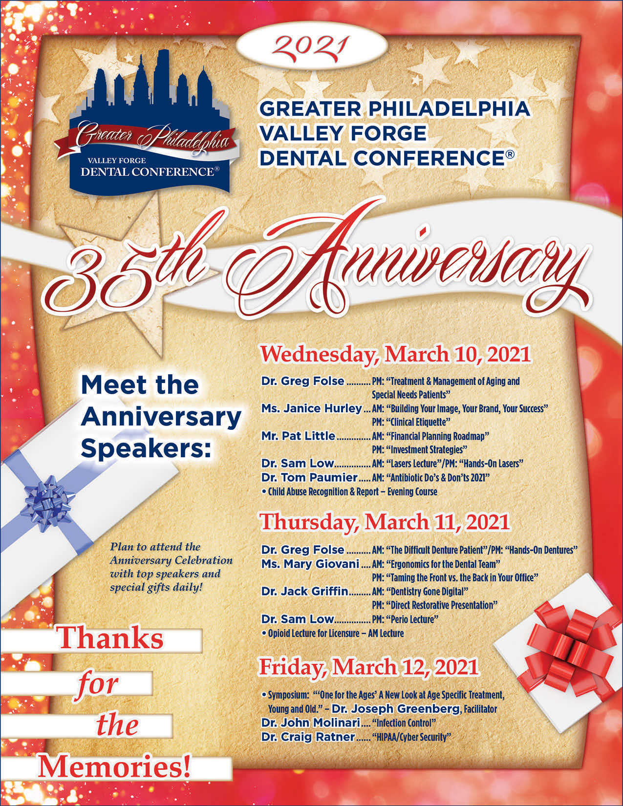 Greater Philadelphia Valley Forge Dental Conference 2021